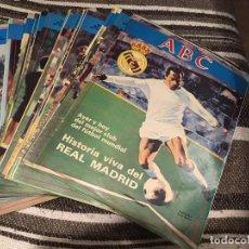 Coleccionismo deportivo: HISTORIA VIVA DEL REAL MADRID. 63 NUMEROS (COMPLETO) MAS EL 55 Y 6 REPETIDOS. Lote 189274966