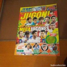 Coleccionismo deportivo: REVISTA JUGON N° 57 CON TODOS LOS POSTERS. Lote 189519885