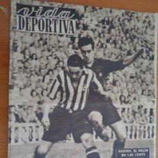 Coleccionismo deportivo: VIDA DEPORTIVA SETIEMBRE 1948. BASORA EL MEJOR EN LAS CORTS. MUY BUEN ESTADO. Lote 189645270