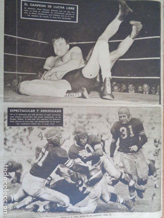 Coleccionismo deportivo: Vida Deportiva Setiembre 1948. Basora el mejor en las Corts. Muy buen estado - Foto 2 - 189645270