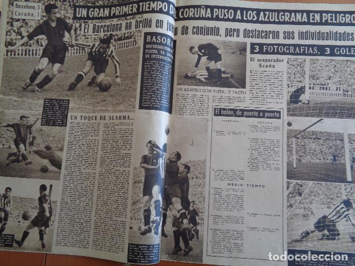 Coleccionismo deportivo: Vida Deportiva Setiembre 1948. Basora el mejor en las Corts. Muy buen estado - Foto 3 - 189645270