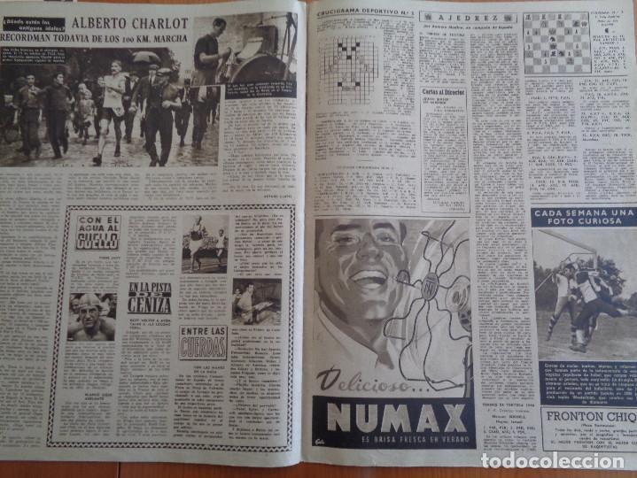 Coleccionismo deportivo: Vida Deportiva Setiembre 1948. Basora el mejor en las Corts. Muy buen estado - Foto 4 - 189645270