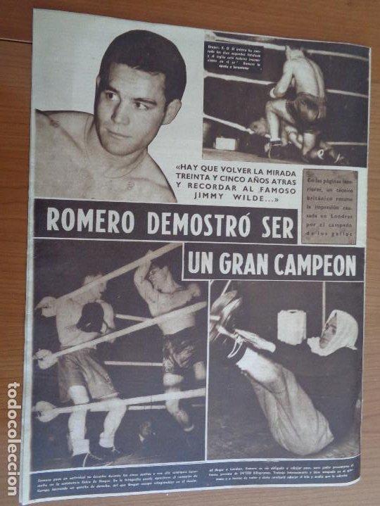 Coleccionismo deportivo: Vida Deportiva Enero 1950 La velocidad venció una vez más. Muy buen estado - Foto 2 - 189645358