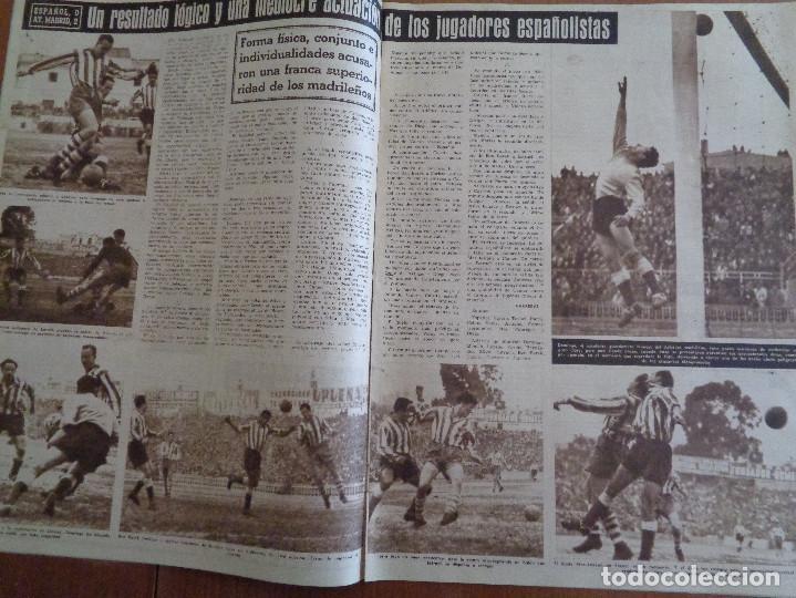 Coleccionismo deportivo: Vida Deportiva Enero 1950 La velocidad venció una vez más. Muy buen estado - Foto 3 - 189645358