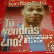 Collectionnisme sportif: (LLL)PROGRAMA F.C.BARCELONA EN GIRA-2007 POR JAPÓN. Lote 189779908