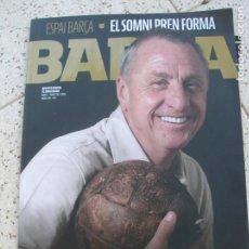 Collectionnisme sportif: REVISTA BARÇA N,80 DE ABRIL GRACIAS JOHAN , 1947-2016. Lote 213070905