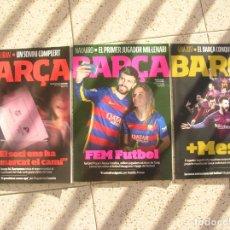 Coleccionismo deportivo: LOTE DE REVISTAS BARÇA N,88,76,78 VER FOTOS. Lote 190051675