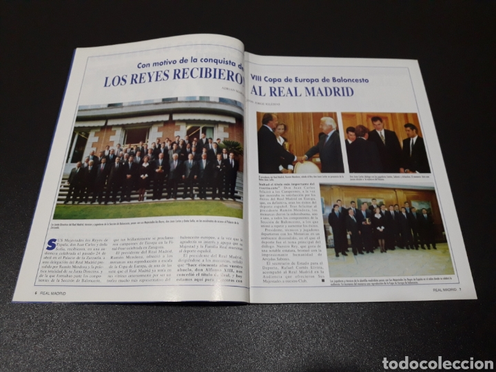 Coleccionismo deportivo: REAL MADRID N° 68. MAYO 1995. - Foto 2 - 190234442