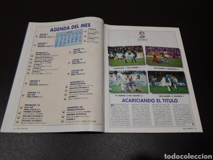 Coleccionismo deportivo: REAL MADRID N° 68. MAYO 1995. - Foto 4 - 190234442