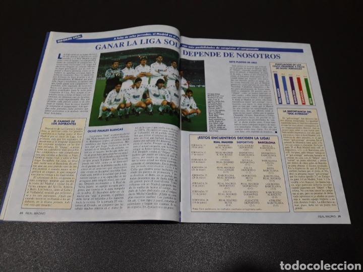 Coleccionismo deportivo: REAL MADRID N° 68. MAYO 1995. - Foto 6 - 190234442