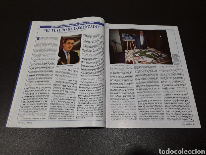 Coleccionismo deportivo: REAL MADRID N° 68. MAYO 1995. - Foto 7 - 190234442