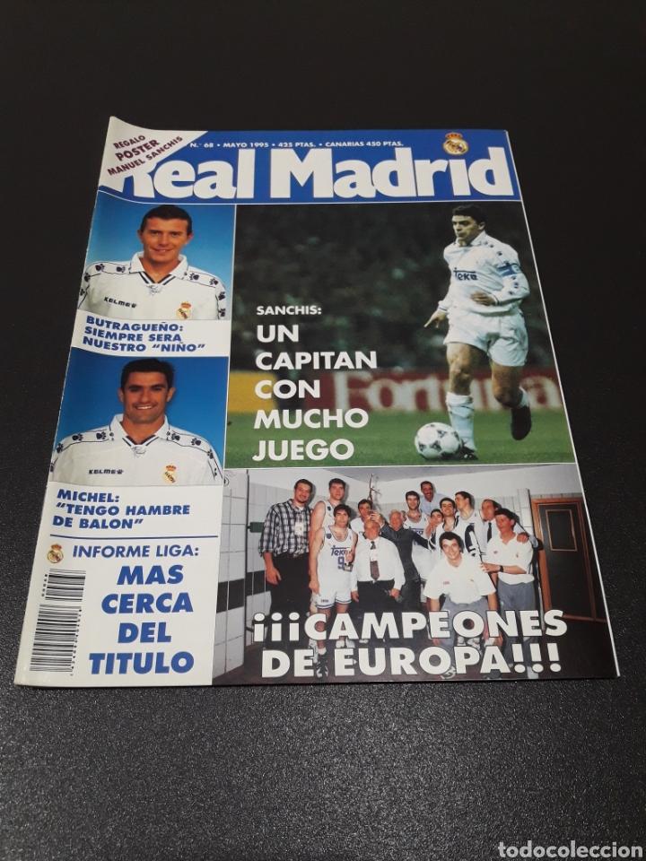 REAL MADRID N° 68. MAYO 1995. (Coleccionismo Deportivo - Revistas y Periódicos - otros Fútbol)