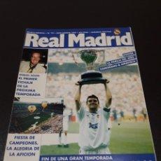 Coleccionismo deportivo: REAL MADRID N° 70. JULIO/AGOSTO 1995.. Lote 190235818