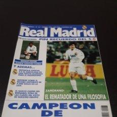 Coleccionismo deportivo: REAL MADRID N° 65. FEBRERO 1995.. Lote 190236585