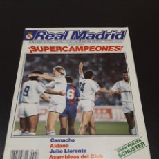 Coleccionismo deportivo: REAL MADRID N° 457. 5 OCTUBRE 1988.. Lote 190329900