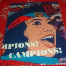 Coleccionismo deportivo: (LLL)SUPLEMENTO LA VANGUARDIA DEDICADO AL F.C.BARCELONA CAMPEÓN LIGA 90-91 !!! BARÇA !!!. Lote 190336458