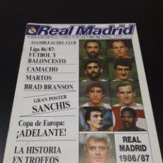 Coleccionismo deportivo: REAL MADRID N° 435. 4 OCTUBRE 1986.. Lote 190358587