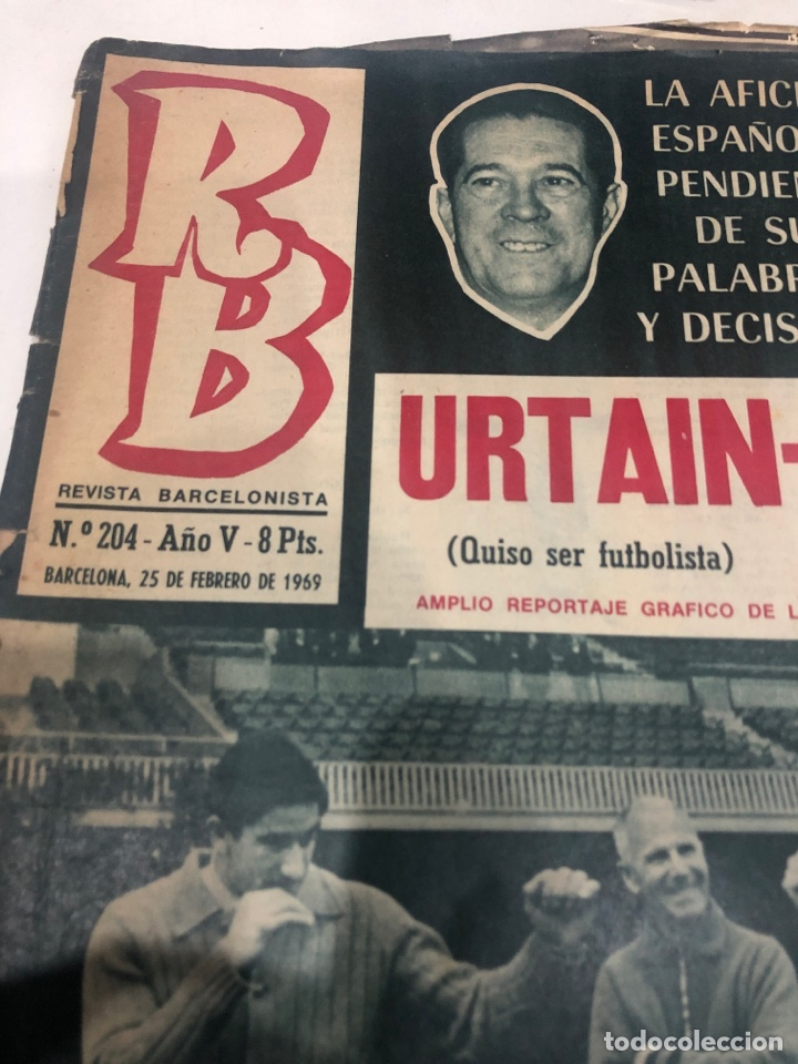 Coleccionismo deportivo: RB revista barcelonista - Foto 2 - 190528401