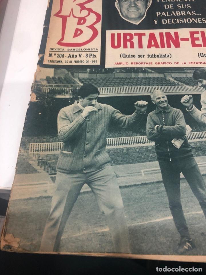 Coleccionismo deportivo: RB revista barcelonista - Foto 4 - 190528401