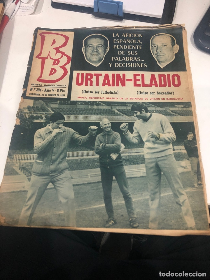 RB REVISTA BARCELONISTA (Coleccionismo Deportivo - Revistas y Periódicos - otros Fútbol)