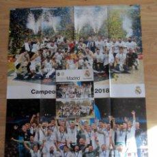 Coleccionismo deportivo: REVISTA HALA MADRID 66 REAL CAMPEON UEFA CHAMPIONS LEAGUE FUTBOL EUROLIGA BASKET COPA EUROPA 2018. Lote 190592707