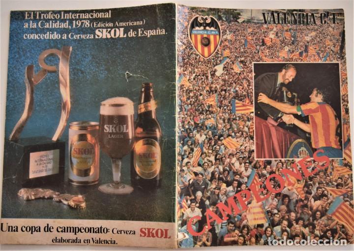 Coleccionismo deportivo: REVISTA MENSUAL VALENCIA CLUB DE FÚTBOL Nº 30-31 VERANO 1979 - CAMPEONES COPA DEL REY (VER DESCRIPC) - Foto 2 - 190615985