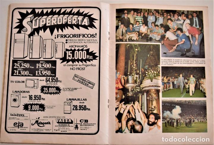 Coleccionismo deportivo: REVISTA MENSUAL VALENCIA CLUB DE FÚTBOL Nº 30-31 VERANO 1979 - CAMPEONES COPA DEL REY (VER DESCRIPC) - Foto 5 - 190615985