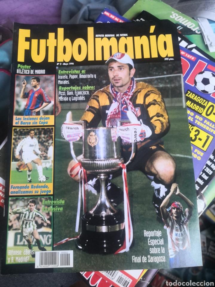 FUTBOLMANIA N°2,ESPECIAL ATLÉTICO DE MADRID, AT., CON PÓSTER EN INTERIOR INTACTO. (Coleccionismo Deportivo - Revistas y Periódicos - otros Fútbol)