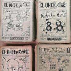 Coleccionismo deportivo: EL ONCE REVISTA DEPORTIVA 1945 - 1962. 600 EJEMPLARES . Lote 190861761