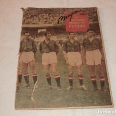 Colecionismo desportivo: MAGAZINE DEL CAMPEONATO MUNDIAL DE FUTBOL 1950 . NEGOVAR.. Lote 191223292