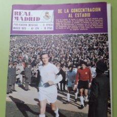 Coleccionismo deportivo: 274 MARZO 1974 POSTER ANDRÉS REVISTA REAL MADRID PUBLICACIÓN MENSUAL DYNAMO DE KIEV COPA EUROPA. Lote 191270438