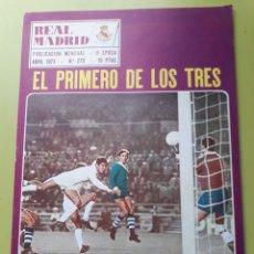 Coleccionismo deportivo: 275 ABRIL 1973 POSTER EMILIANO BRANBERDER REVISTA REAL MADRID PUBLICACIÓN MENSUAL. Lote 191270553