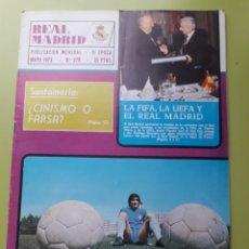Coleccionismo deportivo: 276 MAYO 1973 REVISTA REAL MADRID PUBLICACIÓN MENSUAL. Lote 191270622