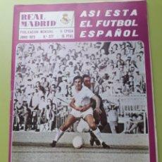 Coleccionismo deportivo: 277 JUNIO 1973 REVISTA REAL MADRID PUBLICACIÓN MENSUAL. Lote 191270660