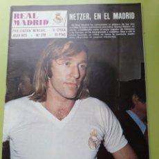 Coleccionismo deportivo: 278 JULIO 1973 POSTER REAL MADRID BALONCESTO REVISTA REAL MADRID PUBLICACIÓN MENSUAL. Lote 191270760