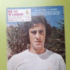 Coleccionismo deportivo: 282 NOVIEMBRE 1973 DEL BOSQUE EL FUTURO REVISTA REAL MADRID PUBLICACIÓN MENSUAL. Lote 191275150