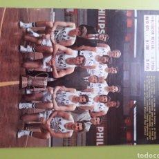 Coleccionismo deportivo: MAYO 1974 N 288 POSTER LA QUINTA COPA DE EUROPA BALONCESTO REVISTA REAL MADRID PUBLICACIÓN MENSUAL. Lote 191276111