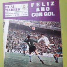 Coleccionismo deportivo: 296 ENERO 1975 REVISTA REAL MADRID PUBLICACIÓN MENSUAL. Lote 191277033