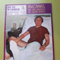 Coleccionismo deportivo: 299 ABRIL 1975 MACANAS DE BELGRADO AL QUIRÓFANO. Lote 191277415