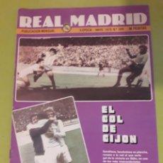 Coleccionismo deportivo: 348 MAYO 1979 CON POSTER DE JUANITO VALDERRAMA SELECCIÓN REVISTA REAL MADRID PUBLICACIÓN MENSUAL. Lote 191292892