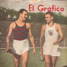Coleccionismo deportivo: 872. EL GRAFICO 30 DE NOVIEMBRE DE 1945.. Lote 191298835