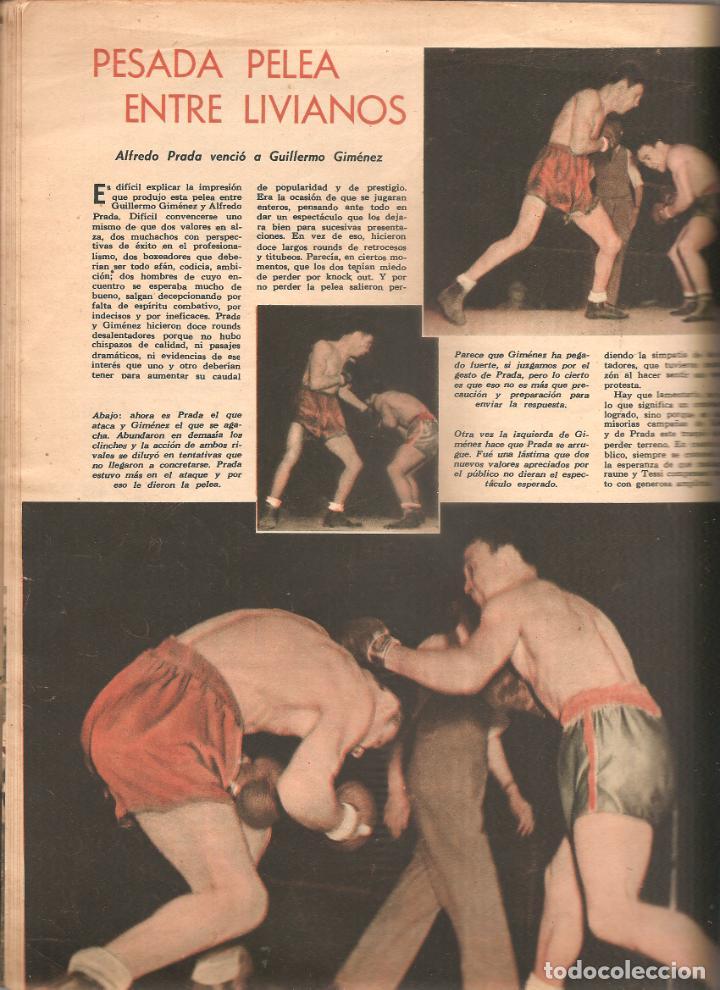 Coleccionismo deportivo: 872. EL GRAFICO 30 DE NOVIEMBRE DE 1945. - Foto 4 - 191298835