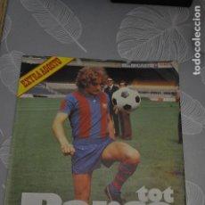 Coleccionismo deportivo: TOT BARÇA EXTRA AGOSTO 80.. Lote 191344238