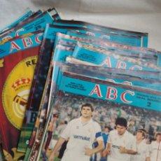 Coleccionismo deportivo: 47 REVISTAS ABC HISTORIA VIVA DEL REAL MADRID. Lote 191742200