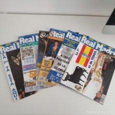 Coleccionismo deportivo: LOTE 6 REVISTAS REAL MADRID ANTIGUAS. Lote 191840573