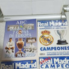 Coleccionismo deportivo: PACK REVISTAS REAL MADRID. Lote 192087672