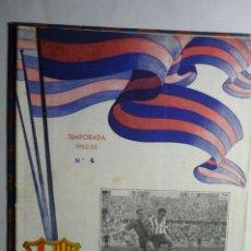 Coleccionismo deportivo: REVISTA BOLETIN FUTBOL F.C. BARCELONA TEMPORADA 52-53 PARTIDO R.SOCIEDAD.-28 PAG.. Lote 192224082