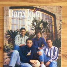 Coleccionismo deportivo: DIARI DEL BARCELONA 87 1992 BARÇA MASIA IVAN CELADES. Lote 192444498