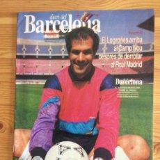 Coleccionismo deportivo: DIARI DEL BARCELONA 93 BARÇA ZUBIZARRETA 1992 URDANGARIN. Lote 192444971