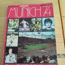 Coleccionismo deportivo: MUNICH 74 REVISTA EDITADA POR L'EQUIP CON MOTIVO DEL MUNDIAL. Lote 192542386